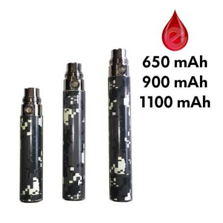 BATTERIE DIGITAL CAMO E11 EGO 650/900/1100