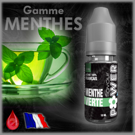 MENTHE VERTE - Flavour POWER - e-liquide 10ml FLAVOUR POWER