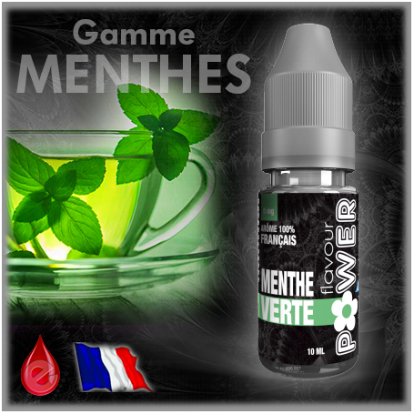 FRAICHEUR MENTHE VERTE - Flavour POWER - e-liquide 10ml