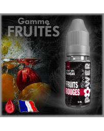 FRUITS ROUGES - Flavour POWER - e-liquide 10ml