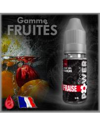 FRAISE - Flavour POWER - e-liquide 10ml