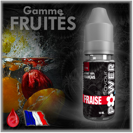 FRUITE FRAISE - Flavour POWER - e-liquide 10ml