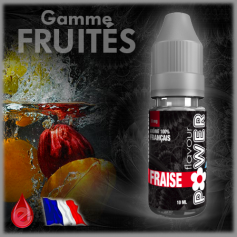 FRAISE - Flavour POWER - e-liquide 10ml
