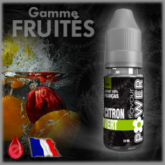 FRUITE CITRON VERT - Flavour POWER - e-liquide 10ml