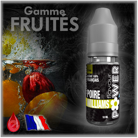 FRUITE POIRE WILLIAMS - Flavour POWER - e-liquide 10ml