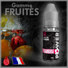 FRAMBOISE - Flavour POWER - e-liquide 10ml FLAVOUR POWER