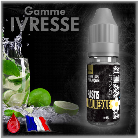 IVRESSE MAURESQUE - Flavour POWER - e-liquide 10ml