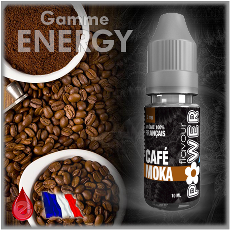 ENERGY MOKA CAFE - Flavour POWER - e-liquide 10ml