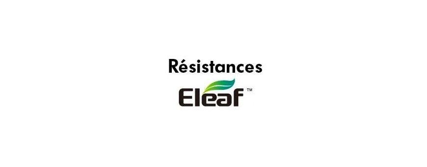 Résistances Eleaf