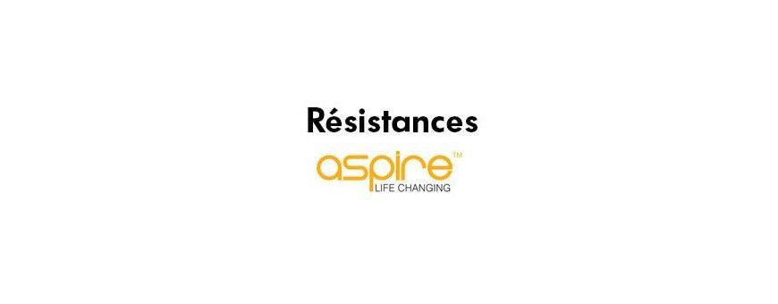 Résistances Aspire