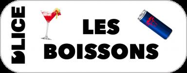 D'LICE - Les Boissons