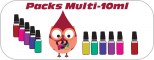 Packs et lots e-liquides Multi-10ml