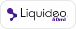 e-liquides FIFTY 50ml Liquideo Français