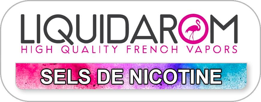 LIQUIDAROM - SELS DE NICOTINE