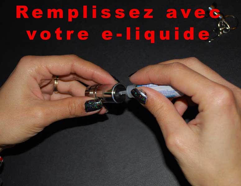 Flacon porte-clés eliquide