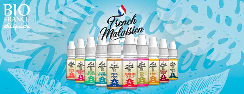 e-liquides Franch Malaisien par Bio France