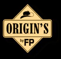 origin's by flavour power logo