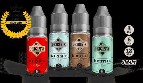origin's by flavour power flacons et dosages