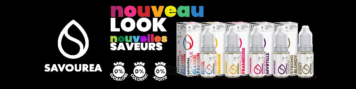 e-liquide Savourea 10ml nouvelle version